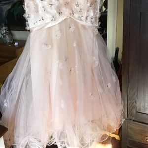 Beautiful evening or prom dress.   Size 3/4